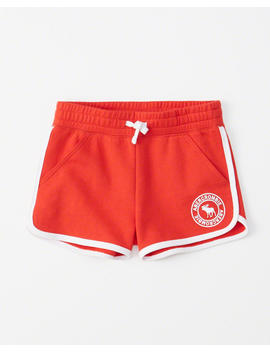 Curved Hem Fleece Shorts by Abercrombie & Fitch