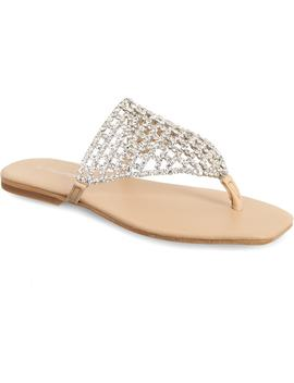 Abelia Crystal Embellished Sandal by Jeffrey Campbell