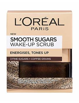 L'oreal Paris Smooth Sugar Wake Up Coffee Face And Lip Scrub 50ml by L'oreal Paris