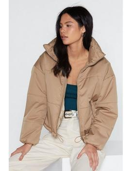 Don't Rain On My Parade Padded Coat by Nasty Gal