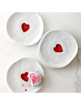 Valentine's Day Appetizer Plates by Williams   Sonoma