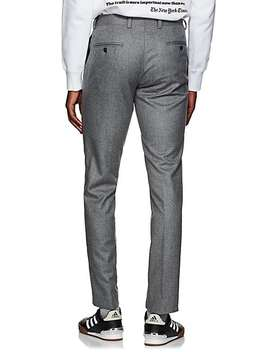 Yellnik Wool Flannel Slim Trousers by Barneys New York