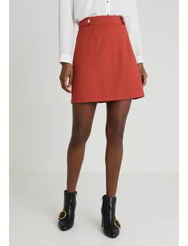 Popper   A Line Skirt by Dorothy Perkins