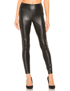 Stretch Faux Leather Legging by 1. State
