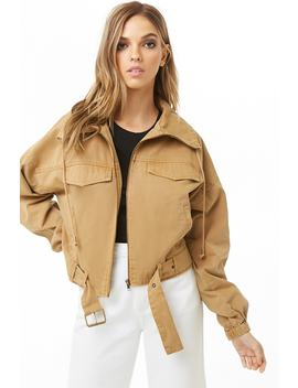 Utility Twill Jacket by Forever 21