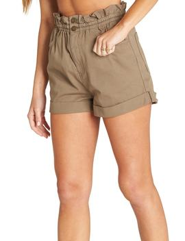 Sun Dialed Paperbag Waist Shorts by Billabong