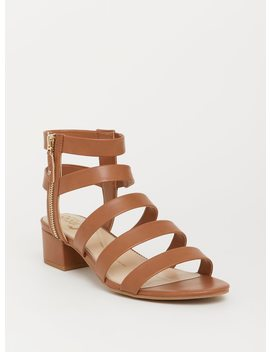 Circus By Sam Edelman Tan Strappy Sandal (Wide Width) by Torrid