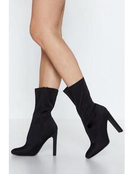 Flat Out High Ankle Boot by Nasty Gal