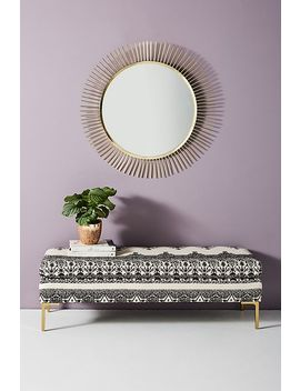 Adalet Printed Edlyn Bench by Anthropologie
