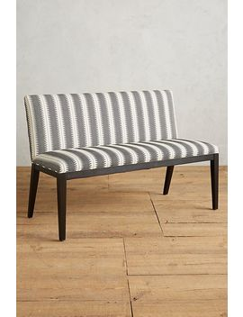 Suren Striped Emrys Bench by Anthropologie