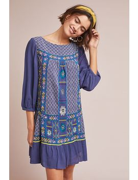 Patna Embroidered Tunic Dress by Akemi + Kin