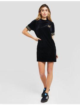 Sik Silk Athena Velour Dress by Sik Silk