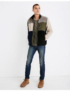 Penfield® Mattawa Sherpa Fleece Jacket In Colorblock by Madewell