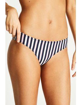 Helton Striped Bikini Bottom by Jack Wills