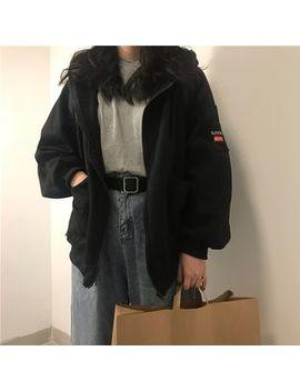 magimomo---lettering-zip-hoodie by magimomo