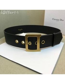 Women's Diorquake Belt Calfskin 50mm by I Offer