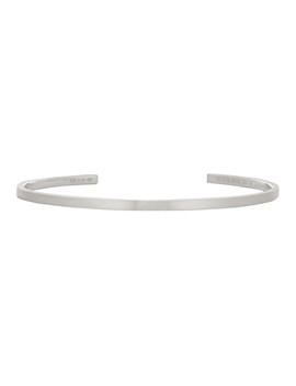 Silver Brushed 'le 7 Grammes' Bracelet by Le Gramme