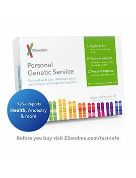 23and Me Dna Test   Health + Ancestry Personal Genetic Service   Includes Reports On Health, Wellness, Ancestry & More by 23and Me