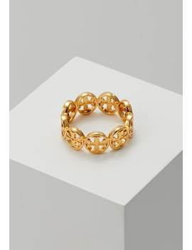 Frozen Logo Ring   Ring   Tory Gold by Tory Burch