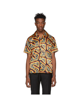 Chemise Hawaïenne Multicolore Snake by Sss World Corp
