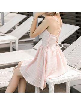Myrii   Spaghetti Strap Mini A Line Dress by Myrii
