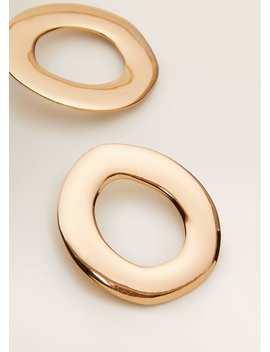 Kovové Geometrické Náušnice by Mango