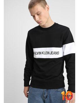 Stripe Institutional    Sweatshirt by Calvin Klein Jeans