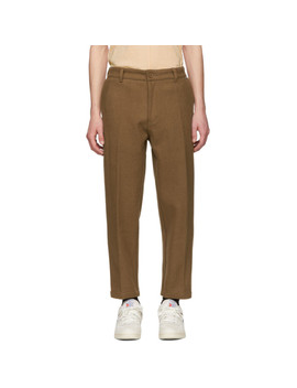 Pantalon En Laine Brun by Dickies Construct