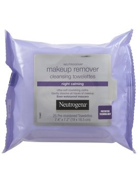 Neutrogena Night Calming Makeup Remover Cleansing Towelettes by Neutrogena