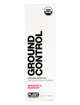 Ground Control Organic Body Oil by Plant Apothecary