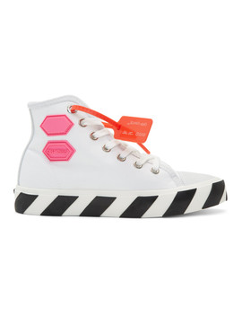 Baskets Montantes Blanches Vulcanized by Off White
