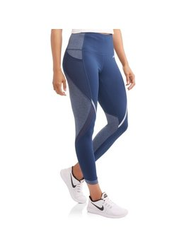 Women's Active Performance 25 Intertwined Crop With Mesh Inserts by Avia