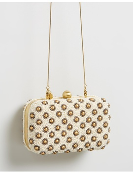 Daisy Box Clutch by From St Xavier