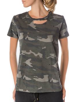 Ripped Camo Tee by Ragdoll