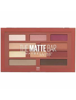 Maybelline New York The Matte Bar Eyeshadow Palette Makeup, 0.34 Ounce by Maybelline New York