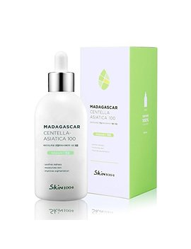 Skin1004 Madagascar Centella Asiatica 100 Ampoule (100ml Or 3.38 Floz) / Facial Serum / 100 Percents Centella Asiatica Extract / For Soothing Sensitive And Acne Prone Skin by Skin1004