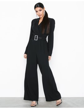 Sl Tux Jumpsuit by River Island
