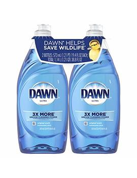Dawn Ultra Dishwashing Liquid, Original, 19.4 Fl Oz, 2 Count by Dawn