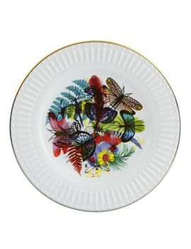 Set Of Four Caribe Dessert Plate by Christian Lacroix By Vista Alegre