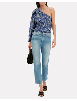 Enid One Shoulder Blouse by Ulla Johnson