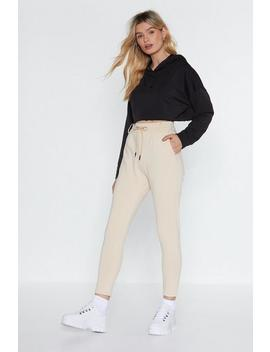 Running Out Tailored Joggers by Nasty Gal
