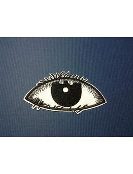 Iron On Sew On Patch:  Eye by Etsy