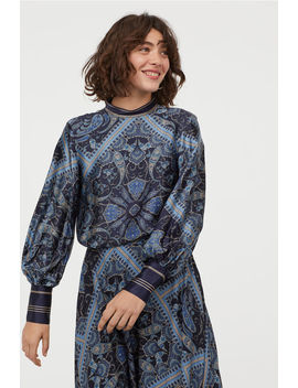 Paisley Patterned Blouse by H&M