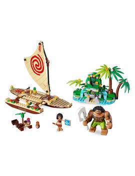 Moana's Ocean Voyage Playset By Lego by Disney