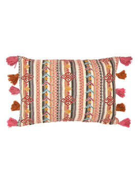 John Lewis & Partners Arora Embroidery Cushion, Multi by John Lewis & Partners