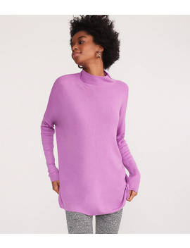 Lou &Amp; Grey Cozy Mock Neck Tunic Sweater by Loft