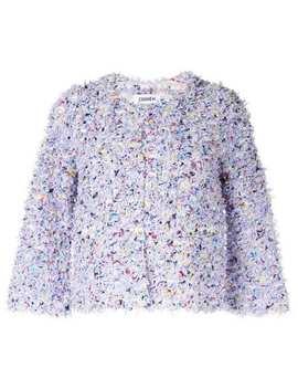 Spring Paint Tweed Jacket by Coohem