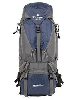 Teton Sports Hiker 3700 Ultralight Internal Frame Backpack – Not Your Basic Backpack; High Performance Backpack For Hiking, Camping, Travel, And Outdoor Activities; Sewn In Rain Cover by Teton Sports