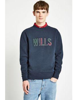 Baggaley Wills Applique Crew Sweatshirt by Jack Wills