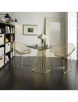 Acme Rianne Gold Chair by Acme Furniture